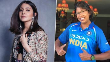 अनुष्का शर्मा ही खेळणार क्रिकेट;महिला क्रिकेटपटूझुलन गोस्वामी वरबनणाऱ्या बायोपिकमध्ये निभावणार मुख्य भूमिका, पाहा हेPhotos