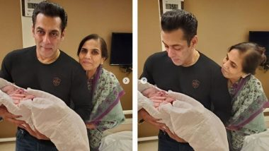 'सलमान खान'चा भाची आयत सोबतचा पहिला फोटो शेअर करताना बहीण अर्पिता शर्मा हिने लिहिली 'ही' भावुक पोस्ट