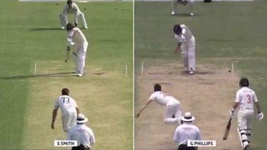 AUS vs NZ: न्यूझीलंडच्याग्लेन फिलिप्स याने डेब्यू सामन्यात स्टिव्ह स्मिथ याच्यासारखी फलंदाजी करतजगाला केले चकित, पाहा Video