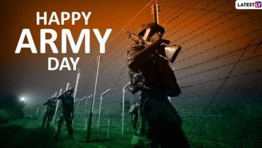 Happy Army Day 2020 Wishes: भारतीय सेना दिनाच्या शुभेच्छा मराठमोळी ग्रीटिंग्स, Images, WhatsApp Status, Messages च्या माध्यमातून शेअर करून सलाम करा भारतीय लष्कराच्या जवानांना!