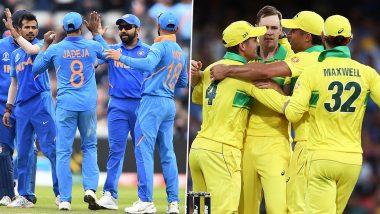 AUS 258/0 in 37.4 Overs  (Target: 256) | IND vs AUS 1st ODI Live Score Updates: मुंबईमध्ये ऑस्ट्रेलियाविरुद्दभारताचा लाजीरवाणा पराभव, 10 विकेटने उडवलाविराट सेनेचा धुव्वा