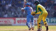 AUS 275/9 in 46.3 Overs (Target: 340/6) | IND vs AUS 2nd ODI Live Score Updates:भारत विजयापासून एक विकेट दूर
