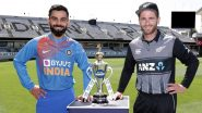 IND vs NZ 1st T20I 2020 Match Live Streaming:भारत विरुद्ध न्यूझीलंडलाईव्ह सामना आणि स्कोर पहा Star Sports आणि Hotstar Online वर