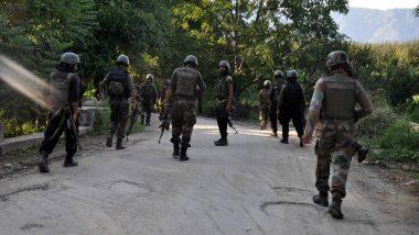 Jammu-Kashmir: जम्मू-काश्मीरमध्ये चकमकीत एक अज्ञात दहशतवादी ठार, पोलीस पथकाची अद्याप शोधमोहीम सुरू