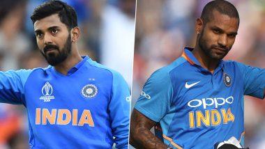 IND vs SL 3rd T20I: केएल राहुल-शिखर धवन यांची जबरदस्त फलंदाजी, टीम इंडियाचे श्रीलंकेला 202 धावांचेविशाल लक्ष्य