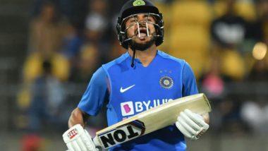 IND vs NZ 4th T20I: मनीष पांडे चे झुंजार अर्धशतक, टीम इंडियाचेन्यूझीलंडला 166 धावांचे लक्ष्य