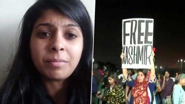 मुंबई: 'Free Kashmir' चे पोस्टर झळकवणाऱ्या तरुणीच्या विरोधात FIR दाखल