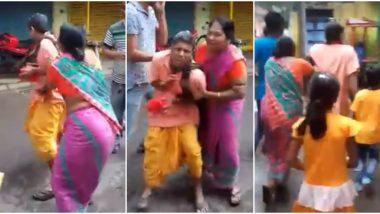 कोलकाता: 'सरस्वती पूजा सांगा नाहीतर सोडतच नाही!' भक्तांनी पुजाऱ्याला खेचले, ढकलत नेले; व्हिडिओ व्हायरल