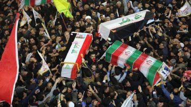 इराण लष्करातील कंमाडर कासिम सुलेमानी यांच्या अंत्ययात्रेत चेंगराचेंगरी; 35 जणांचा मृत्यू तर, 48 जण जखमी