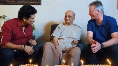 भारताचे माजी क्रिकेटपटू वसंत रायजी यांनी केली वयाची सेन्चुरी, सचिन तेंडुलकरने 100 व्या वाढदिवसानिमित्त दिल्या शुभेच्छा