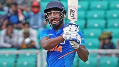 Video: संजू सॅमसन याने श्रीलंकाविरुद्धपहिल्या चेंडूवर षटकार मारलेला पाहूनविराट कोहलीराहिलास्तब्ध