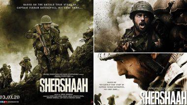 Shershaah Poster Out: सिद्धार्थ मल्होत्राने आपल्या वाढदिवशी शेअर केले त्याच्या आगामी चित्रपटाचे पोस्टर्स