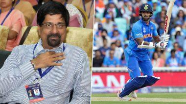शिखर धवन याच्याबद्दल निवड समितीचे माजी अध्यक्षश्रीकांत यांनी केलेमोठे विधान, टी-20 विश्वचषकसाठी टीम इंडियात 'गब्बर'च्या जागी केली 'या' फलंदाजांची निवड