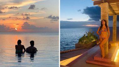 सारा अली खान तिच्या आयुष्यातील दोन खास व्यक्तींसोबत मालदीवमध्ये एन्जॉय करतेय Vacation; पाहा फोटोज