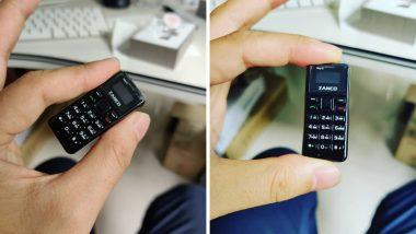 Zanco tiny t2: जगातील सर्वात छोटा 2.4 इंचाचा स्मार्टफोन लाँच; 7 दिवस चालते याची बॅटरी लाईफ, वाचा सविस्तर