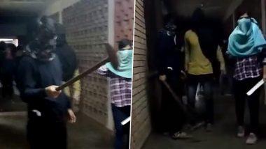 JNU Attack: जेएनयू हल्ला प्रकरणातील हल्लेखोरांची ओळख पटली; सरकारी सूत्रांच्या हवाल्याने प्रसारमाध्यमांचा दावा