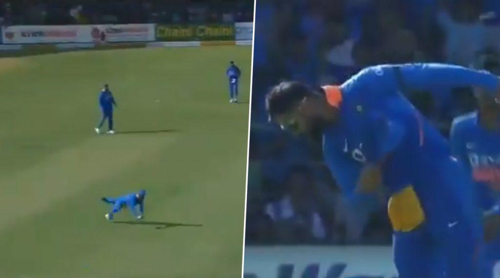 IND vs AUS 3rd ODI: बेंगळुरूमध्ये दिसला 'उडता' विराट,मार्नस लाबूशेन चा कॅच पकडल्यावरकिंग कोहलीने केले रॉबिन उथप्पाच्या 'कॅपसेलिब्रेशन' चे केले अनुकरण, पाहा Video