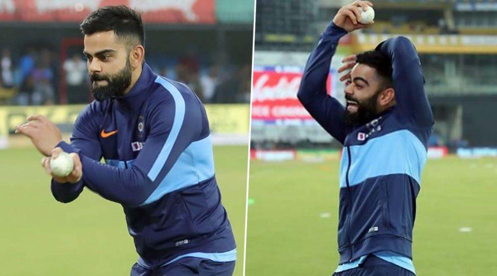 IND vs SL 2nd T20I:विराट कोहली याने हरभजन सिंह याची केलेली नक्कल पाहून गोलंदाजालाही झाले हसू अनावर, पाहा (Video)