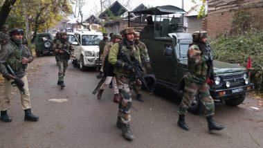 जम्मू कश्मीर मध्ये पोलिसांसोबतच्या चकमकीत 3 दहशतवादी ठार