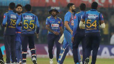 SL 123/10 In 15.5 Overs (Target: IND 201/6)   IND vs SL 3rd T20I Live Score Updates: पुणे टी -20 मध्ये भारताचा विजय, मालिकेत 2-0 ने विजयी