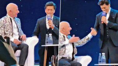 Amazon चे मालक Jeff Bezos यांना शाहरूख खान  ने शिकवला 'डॉन' चा सुपरहिट डायलॉग (Watch Video)