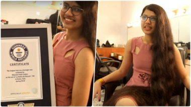 अबब! तब्बल 6 फुट लांब केसांचा विश्वविक्रम; भारताच्या निलांशी पटेलचे नाव Guinness World Records मध्ये सामील
