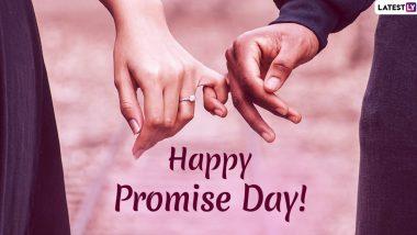 Happy Promise Day 2020 Images: प्रॉमिस डे निमित्त मराठी शुभेच्छा, Wishes Messages HD Greetings, Wallpaper शेअर करुन आपल्या जोडीदारांला द्या खास शुभेच्छा!