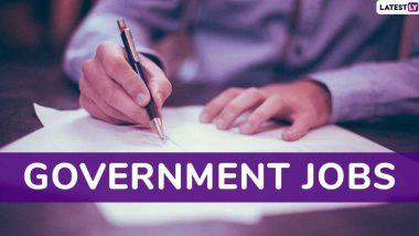 Government Job: केंद्र सरकारच्या विविध विभागात तब्बल 6.83 लाख पदे रिक्त, लवकरच होणार भरती- राज्यमंत्री जितेंद्र सिंह यांची माहिती