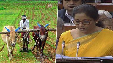 Agriculture Budget 2020 Highlights: केंद्रीय अर्थसंकल्पामध्ये शेतक-यांसाठी करण्यात आली 15 लाख कोटींच्या कर्जाची तरतूद; पाहा कृषी क्षेत्रासाठी या बजेटमध्ये आणखी काय मिळाले ते