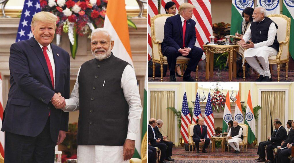 Trump India Visit: भारत - अमेरिका यांच्यामध्ये झाले 3 अब्ज डॉलर्सचे डिफेंस डील;  लवकरच मिळणार अत्याधुनिक अमेरिकन बनावटीची शस्त्र