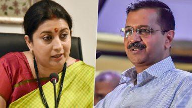 Delhi Assembly Elections:अरविंद केजरीवाल यांनी महिलांना पुरुषांशी चर्चा करून मतदान करण्याचा सल्ला देताच भडकल्या स्मृती इराणी;ट्विट वरून केला 'हा' सवाल