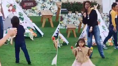 करीना कपूर खान आणि मुलगा तैमूर चा 'Baby Shark do do' गाण्यावरील क्युट डान्स सोशल मिडियावर व्हायरल, Watch Video