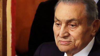 इजिप्तचे माजी राष्ट्राध्यक्ष होस्नी मुबारक यांचे निधन; वयाच्या 91 वर्षी घेतला अखेरचा श्वास