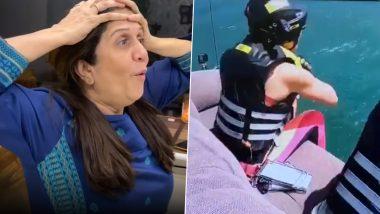 अभिनेत्री अमृता खानविलकर चा 'खतरों के खिलाडी 10' मधील हा स्टंट पाहून तिच्या आईला अश्रू झाले अनावर, Watch Video
