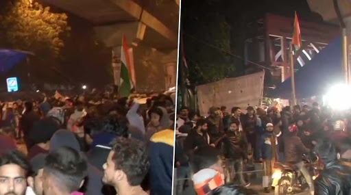 दिल्ली: जामिया मिलिया इस्लामिया विद्यापीठात पुन्हा गोळीबार