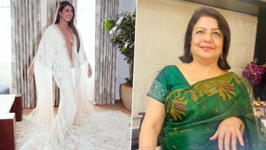 प्रियंकाच्या डिपनेक गाऊनवर आई मधू चोप्रा म्हणाली, 'तिचे शरीर आहे, तिला जे करायचे ते ती करेल'