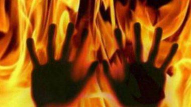 लखनौ: लग्नासाठी निघालेल्या गाडीने घेतला पेट; आगीत सात जणांचा होरपळून मृत्यू