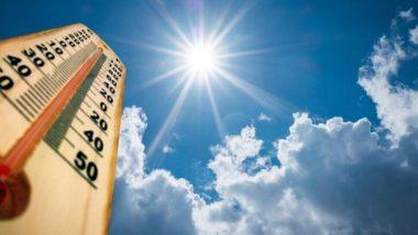 मुंबई मध्ये तापमान 38.1 अंशावर,  मागील 10 वर्षातील फेब्रुवारी महिन्यातील तिसर्या  सर्वाधिक कमाल तापमानाची नोंद