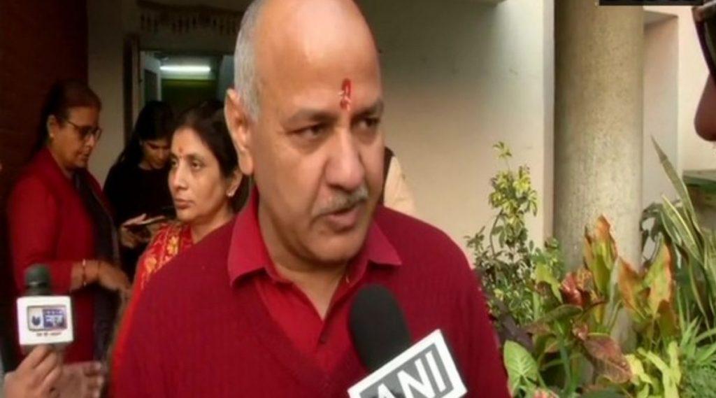 Delhi Deputy Chief Minister Manish Sisodia Tests Positive For Coronavirus: दिल्लीचे उपमुख्यमंत्री मनीष सिसोदिया यांची कोरोना चाचणी पॉझिटिव्ह