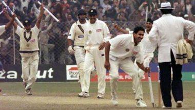 On This Day, February 7, 1999! आजच्या दिवशी21 वर्षांपूर्वी अनिल कुंबळेयाने घेतले होते परफेक्ट10, पाकिस्तानविरुद्धस्वबळावर मिळवून दिला होता विजय