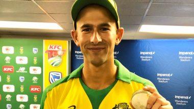 SA vs AUS 1st T20I: ऑस्ट्रेलियाच्या एश्टन एगरने दक्षिण आफ्रिकाविरुद्ध घेतली हॅटट्रिक,ब्रेट ली नंतर 'ही' कमालकरणारा ठरला दुसरा गोलंदाज