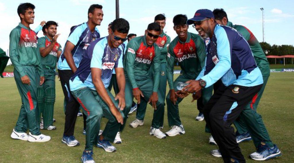 Video: अंडर-19 विश्वचषक सेमीफायनलमध्ये ऐतिहासिक विजयानंतर बांग्लादेशी टीमने असा केला उत्सव साजरा
