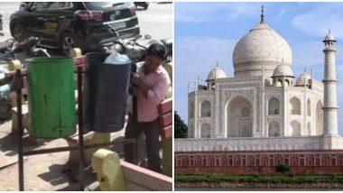 अमेरिका राष्ट्राध्यक्ष डोनाल्ड ट्रम्प यांचा भारत दौरा, ताज महालच्या येथे जाण्यासाठी आगरा मध्ये जोरदार तयारी