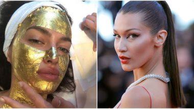 Gold Face Treatment Video: जगप्रसिद्ध मॉडेल बेला हदीद हिने केली 24K शुद्ध सोन्याने गोल्ड फेस ट्रीटमेंट; पाहा किती आला खर्च?