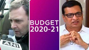 Budget 2020: अर्थसंकल्पावर काँग्रेस नेते राहुल गांधी, बाळासाहेब थोरात यांच्यासह अन्य राजकीय मंडळींनी काय दिल्या पहिली प्रतिक्रिया, वाचा सविस्तर
