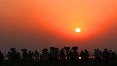 चीन: Horizon वर दिसले पाच सूर्य; मंगोलिया मधील 'हे' अद्भुत दृश्य पाहा (Watch Video)