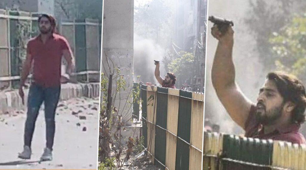 दिल्ली हिंसाचार:  8 राऊंड फायरिंग करणारा तरूण 'शाहरूख' पोलिसांच्या अटकेत