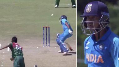 U19 World Cup 2020: दिव्यांश सक्सेना च्या डोक्यावर बांग्लादेशी गोलंदाजाने रागात फेकून मारला बॉल, संतप्त Netizens ने लगावली फटकार