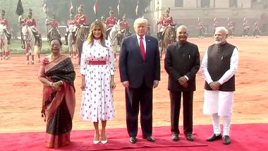 Donald Trump India Visit Day 2 Live Updates: दिल्ली मध्ये PM नरेंद्र मोदी आणि अमेरिकन राष्ट्राध्यक्ष डोनाल्ड ट्र्म्प यांची Hyderabad House मध्ये होणार चर्चा