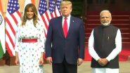 Donald Trump India Visit Day 2 Live Updates: डोनाल्ड  ट्र्म्प आणि मेलानिया ट्रम्प यांचं नरेंद्र मोदींनी केलं Hyderabad House मध्ये स्वागत
